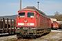 """LTS 0774 - Railion """"232 539-7"""" 03.01.2009 - Saalfeld (Saale)br232.com Archiv"""