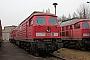 """LTS 0774 - Railion """"232 539-7"""" 28.01.2009 - Saalfeld (Saale), BetriebswerkStephan Möckel"""