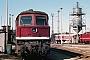 "LTS 0774 - DR ""132 539-8"" 31.08.1987 - Schwerin, Bahnbetriebswerk HauptbahnhofMichael Uhren"