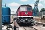 """LTS 0079 - DR """"130 057-3"""" 06.08.1989 - Waren (Müritz), EinsatzstelleMichael Uhren"""
