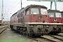 """LTS 0806 - DR """"132 546-3"""" 31.07.1991 - Stralsund, BetriebswerkNorbert Schmitz"""