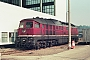 "LTS 0809 - DR ""132 549-7"" 26.04.1991 - Neustrelitz, Betriebswerk HauptbahnhofMichael Uhren"