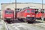 "LTS 0810 - DB Cargo ""232 550-4"" 30.04.2001 - Seddin, BetriebswerkHeiko Müller"