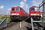 """LTS 0813 - DB Schenker """"232 553-8"""" 13.09.2013 - Halle (Saale), Betriebswerk Gbr232.com Archiv"""