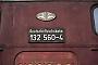 """LTS 0821 - DR """"132 560-4"""" 21.12.1985 - HelmstedtPhilip Wormald"""