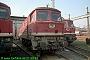 "LTS 0822 - DR ""132 562-0"" 21.09.1991 - Halle (Saale), Betriebswerk GNorbert Schmitz"