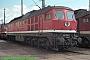 """LTS 0826 - DB AG """"232 566-0"""" 24.05.1997 - Magdeburg, Betriebswerk HauptbahnhofNorbert Schmitz"""