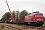 "LTS 0828 - DB Schenker ""232 568-6"" 14.10.2010 - Zarrentin am Schaalsee
