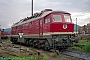 """LTS 0831 - DR """"132 571-1"""" 27.09.1991 - Saalfeld (Saale), BetriebswerkNorbert Schmitz"""