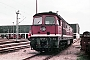 """LTS 0839 - DR """"132 579-4"""" 13.07.1989 - Neustrelitz, BetriebswerkMichael Uhren"""