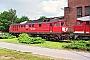 """LTS 0867 - DB AG """"232 586-8"""" 16.06.1999 - Reichenbach (Vogtland), Betriebswerk Klaus Hentschel"""