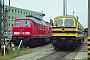 """LTS 0872 - DB Regio """"234 591-6"""" 17.05.2000 - Schwerin, BahnbetriebswerkMichael Uhren"""