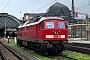 """LTS 0872 - DB Regio """"234 591-6"""" 27.04.2001 - Dresden, HauptbahnhofDietrich Bothe"""
