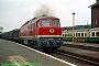 """LTS 0874 - DR """"132 593-5"""" 20.07.1991 - Eisenach, BahnhofNorbert Schmitz"""