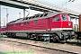 """LTS 0879 - DR """"232 598-3"""" 01.05.1992 - Stralsund, BetriebswerkNorbert Schmitz"""