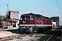 """LTS 0879 - DR """"132 598-4"""" 19.11.1989 - Neustrelitz, BetriebswerkMichael Uhren"""
