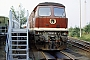 """LTS 0882 - DR """"132 601-6"""" 25.06.1989 - Reichenbach (Vogtland), BahnbetriebswerkMarco Osterland"""