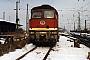 """LTS 0887 - DR """"132 606-5"""" __.02.1991 - Leipzig, HauptbahnhofCarsten Schwarze"""