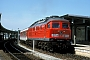 """LTS 0889 - DB Regio """"234 608-8"""" 27.08.2000 - Plauen (Vogtland), oberer BahnhofW. Consten (Archiv Werner Brutzer)"""