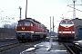 """LTS 0889 - DR """"234 608-8"""" 28.02.1993 - Berlin-RummelsburgWerner Brutzer"""