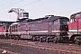 "LTS 0088 - DR ""130 066-4"" 03.04.1988 - Seddin, BahnbetriebswerkMichael Uhren"