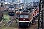 """LTS 0906 - DR """"132 625-5"""" 14.08.1991 - Halle (Saale), Bahnbetriebswerk GErnst Lauer"""