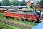 """LTS 0911 - DR """"132 630-5"""" 31.07.1991 - Stralsund, BetriebswerkNorbert Schmitz"""