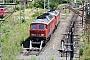 """LTS 0916 - DB Schenker """"232 635-3"""" 22.06.2012 - Halle (Saale), Bahnbetriebswerk GAndy Kunst"""