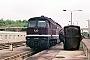 """LTS 0916 - DR """"132 635-4"""" 24.05.1990 - Neustrelitz, BetriebswerkMichael Uhren"""