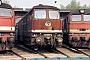 """LTS 0933 - DR """"132 652-9"""" 19.09.1991 - Leipzig-Wahren, BahnbetriebswerkErnst Lauer"""