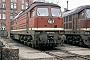 """LTS 0095 - DR """"130 073-0"""" 09.03.1991 - Wustermark, BahnbetriebswerkWerner Brutzer"""