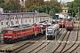 """LTS 0971 - EBS """"232 690-8"""" 15.09.2017 - Leipzig, Betriebswerk Hauptbahnhof SüdAlex Huber"""