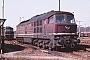 "LTS 0097 - DR ""130 075-5"" 03.04.1988 - Seddin, BahnbetriebswerkMichael Uhren"