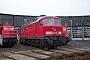 "LTS 0983 - Railion ""232 702-1"" 27.12.2003 - Saalfeld (Saale), BetriebswerkPeter Wegner"