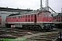 "LTS 0984 - DB AG ""232 703-9"" 12.10.1995 - Halle (Saale), Betriebswerk GNorbert Schmitz"